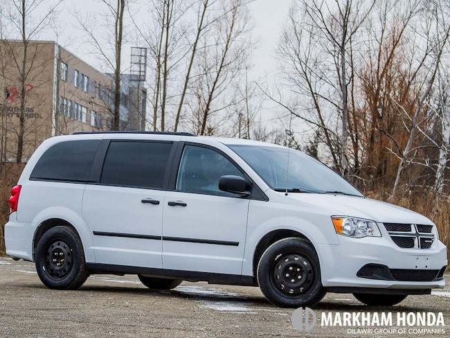Used 2016 Dodge Grand Caravan For Sale At Markham Honda Vin Item Vin