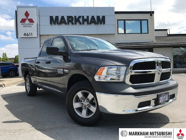 2018 Ram 1500 ST - 1OWNER|$0DOWN FINANCE|TAILGATE| Truck Quad Cab