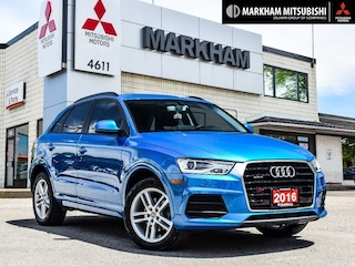 2016 Audi Q3 2.0T Komfort-|PANO ROOF|ONE OWNER| SUV