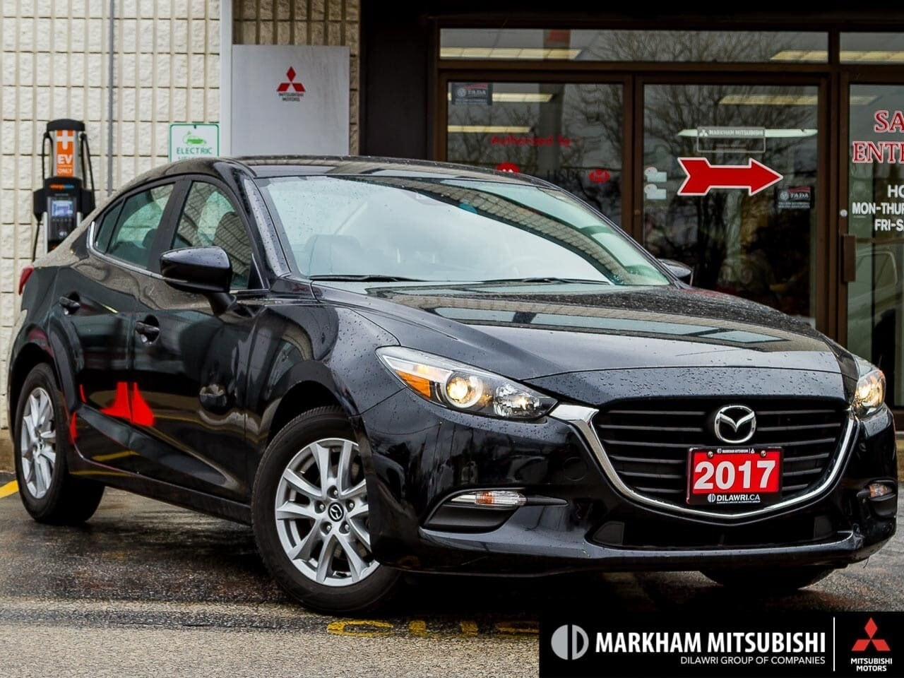 2017 Mazda Mazda3 BACKUP CAM|BLINDSPOT WARNING|NAVI| Berline