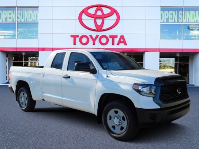 New 2019 Toyota Tundra SR 4.6L V8 Truck Double Cab For Sale in Durham, NC