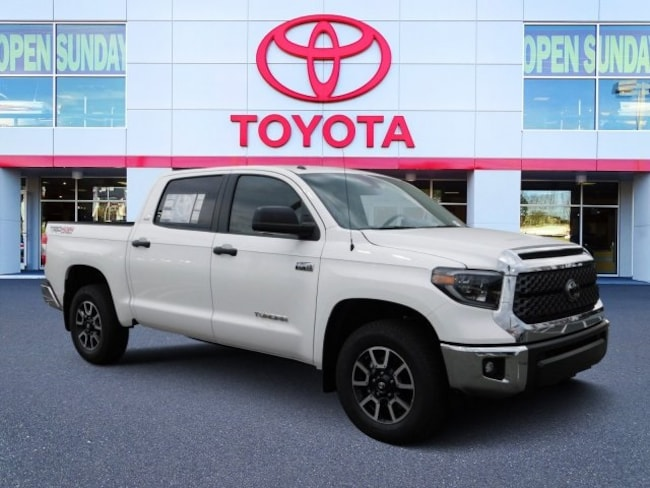 New 2019 Toyota Tundra SR5 5.7L V8 Truck CrewMax For Sale in Durham, NC