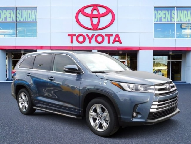 New 2019 Toyota Highlander Limited V6 SUV For Sale in Durham, NC