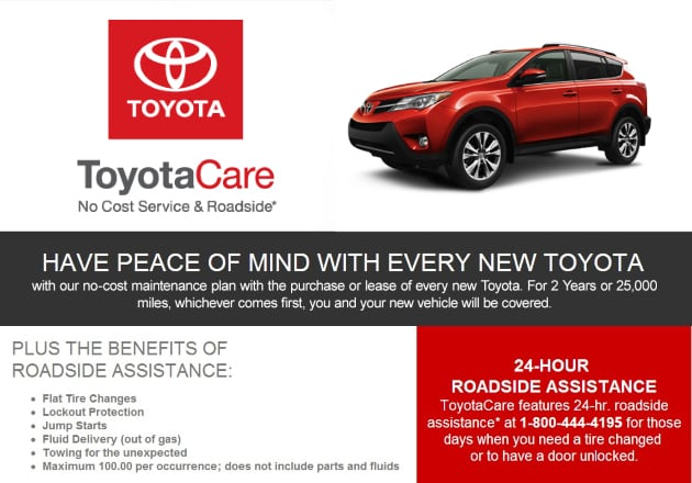 At Mark Jacobson Toyota ...