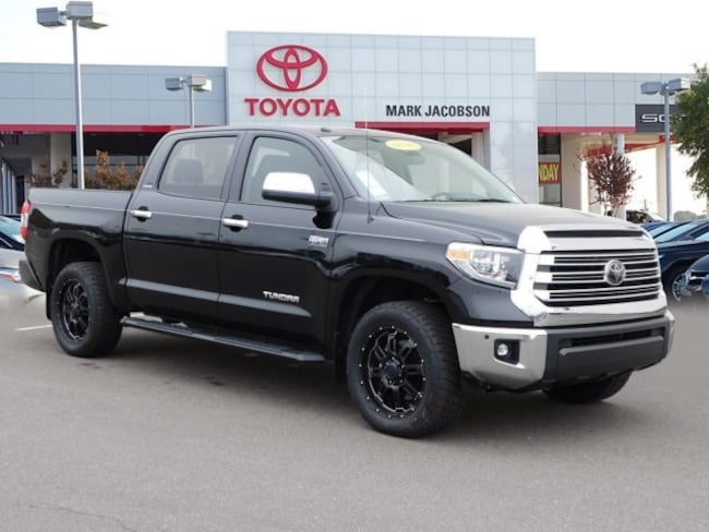 New 2018 Toyota Tundra Limited 5.7L V8 w/FFV Truck CrewMax For Sale in Durham, NC