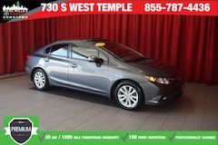 Bargain Used 2012 Honda Civic EX-L Sedan under $10,000 for Sale in Salt Lake City, UT