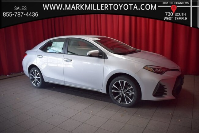 New 2019 Toyota Corolla SE Sedan in Salt Lake City