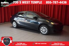 Certified 2017 Toyota Corolla LE Sedan in Salt Lake City, UT