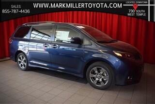 New 2019 Toyota Sienna SE 7 Passenger Van in Salt Lake City, UT