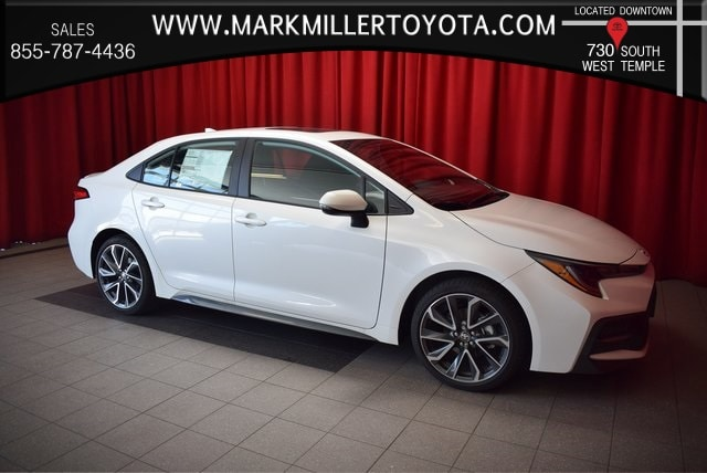 Featured New 2020 Toyota Corolla SE Sedan for Sale near South Jordan