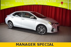 Certified 2016 Toyota Corolla S Plus Sedan in Salt Lake City, UT
