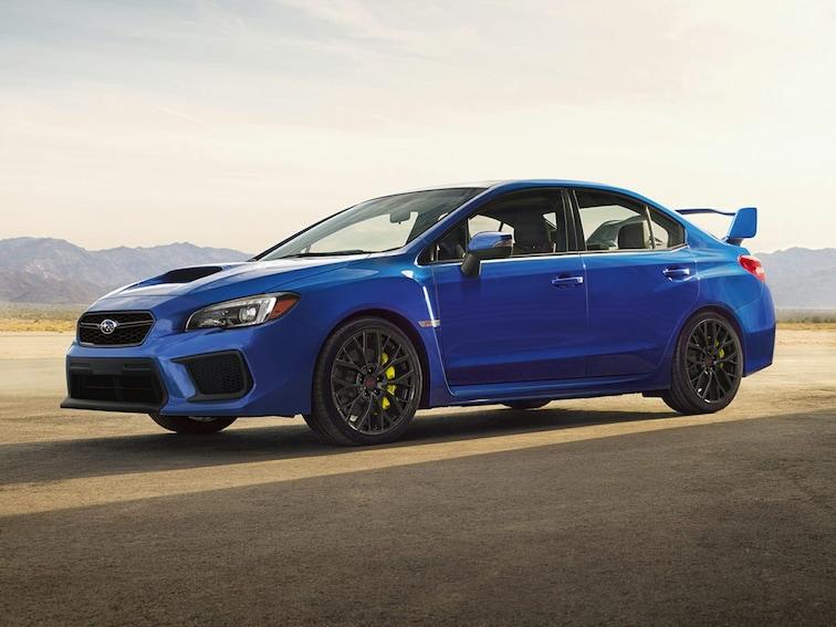 New 2019 Subaru WRX STI Sedan Sandy UT