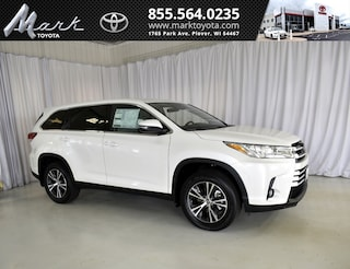 New 2019 Toyota Highlander LE Plus V6 AWD - 2nd Row Bench SUV T5563 in Plover, WI