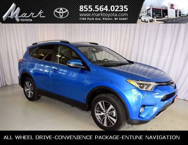 Used 2016 Toyota RAV4 XLE All Wheel Drive w/Convenience Package, Moonroo SUV in Plover, WI