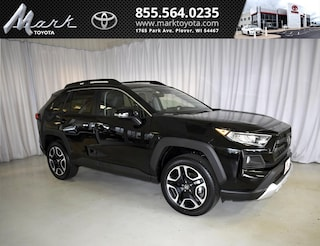 New 2019 Toyota RAV4 Adventure AWD - Moonroof & Cold Weather Pkg SUV T5578 in Plover, WI