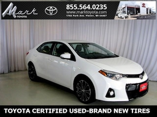 Used 2016 Toyota Corolla S Plus w/Bluetooth, Backup Camera & Alloy Wheels Sedan in Plover, WI