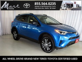 Used 2016 Toyota RAV4 LE All Wheel Drive w/Bluetooth, Backup Camera & Po SUV in Plover, WI