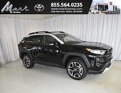 New 2019 Toyota RAV4 Adventure AWD - Moonroof & Cold Weather Pkg SUV T5567 Plover, WI