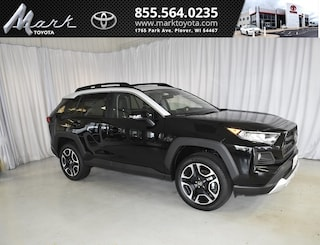 New 2019 Toyota RAV4 Adventure AWD - Moonroof & Cold Weather Pkg SUV T5567 in Plover, WI