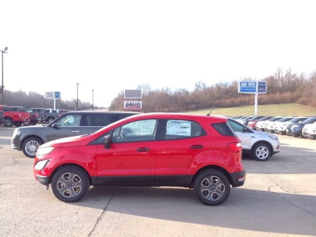 New 2019 Ford EcoSport S FWD Sport Utility in Jackson, OH