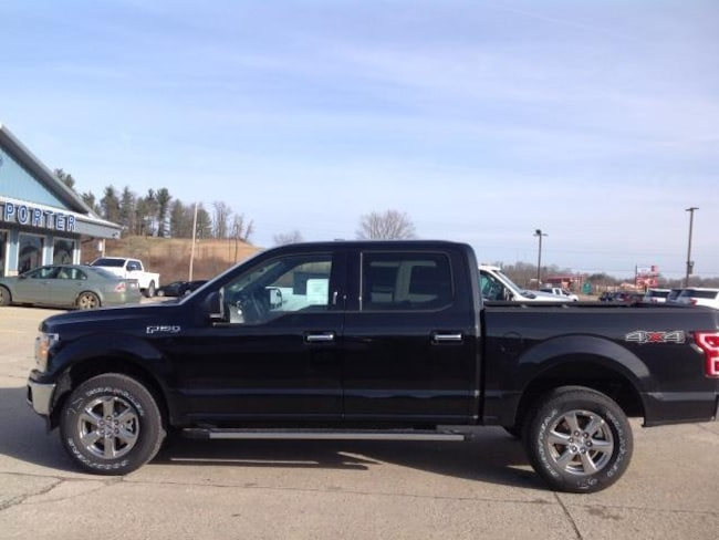 New 2019 Ford F-150 XLT 4WD Supercrew 5.5 Box Crew Cab Pickup in Jackson, OH