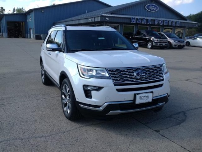 New 2019 Ford Explorer Platinum 4WD Sport Utility in Jackson, OH