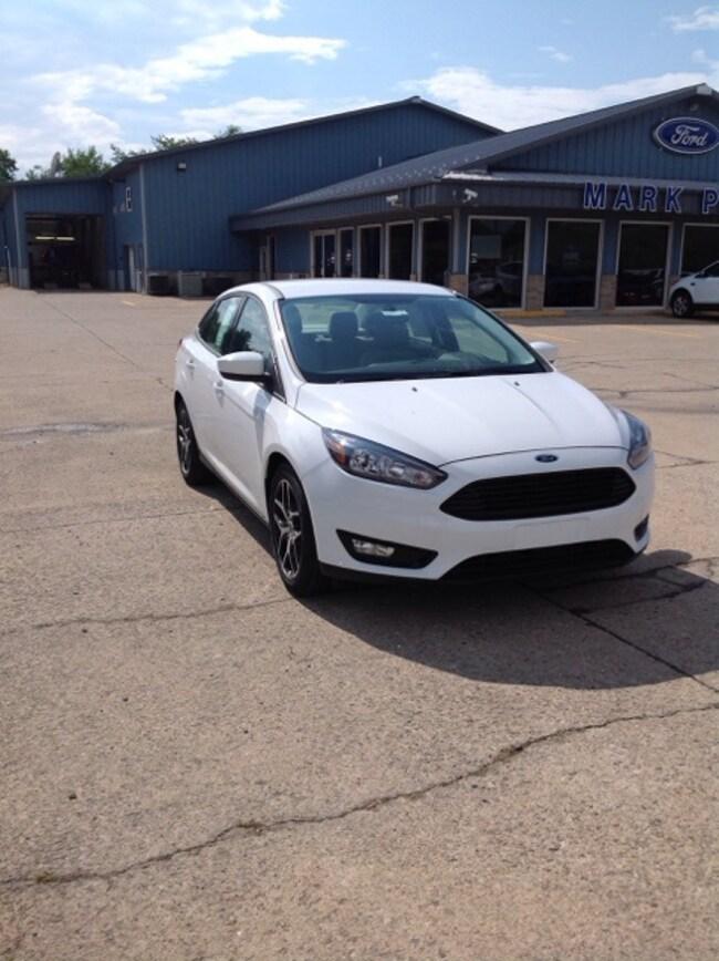 New 2018 Ford Focus SE Sedan Car in Jackson, OH