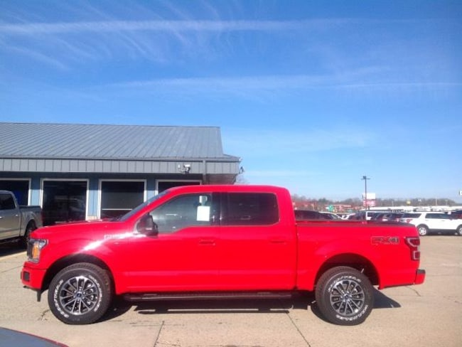 New 2018 Ford F-150 XLT 4WD Supercrew 5.5 Box Crew Cab Pickup in Jackson, OH