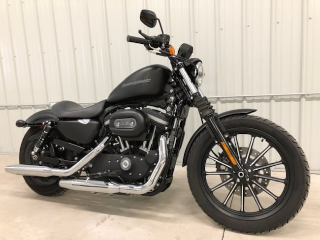 2010 HARLEY-DAVIDSON XL883N IRON SOLD