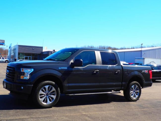 2017 Ford F-150 XL Crew Cab Long Bed Truck