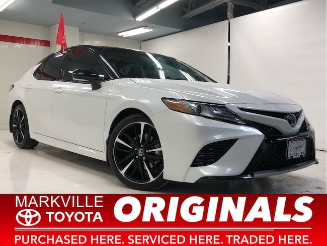 2018 Toyota Camry XSE V6 TOYOTA CERTIFIED ACCIDENT FREE Sedan