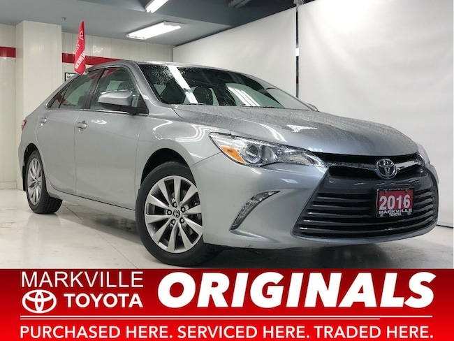 2016 Toyota Camry XLE|ACCIDENT FREE|1 OWNER|NAVI|LTHER Sedan