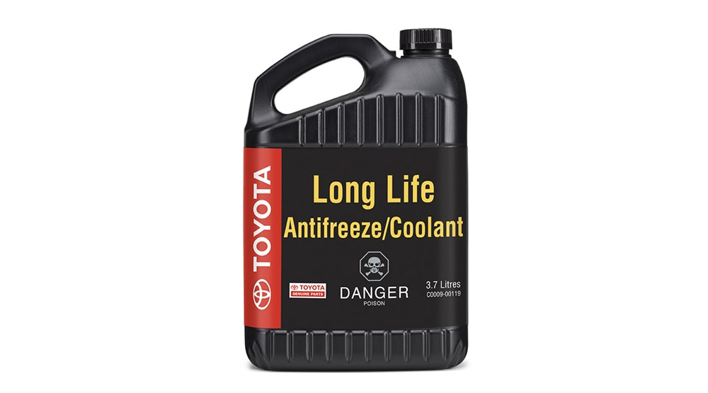 Service Toyota Genuine Long Life Coolant