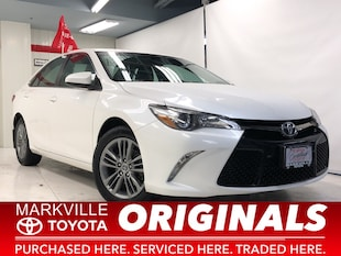 2015 Toyota Camry SE|TOYOTA CERTIFIED|ACCIDENT FREE|2 SET TIRES Sedan