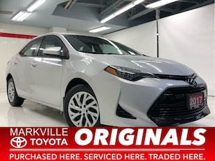 2017 Toyota Corolla LE|TOYOTA CERTIFIED|1 OWNER|ACCIDENT FREE Sedan