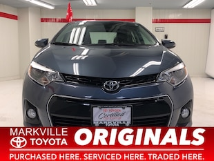 2015 Toyota Corolla S|TOYOTA CERTIFIED|ACCIDENT FREE Sedan