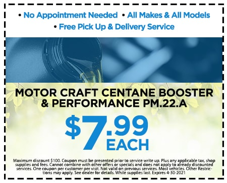 Motor Craft Centane Booster& Performance PM.22.A $7.99 Each