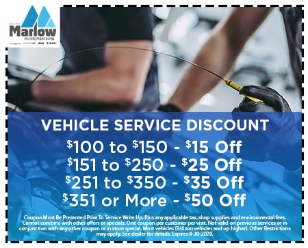 Vehicle Service Discount