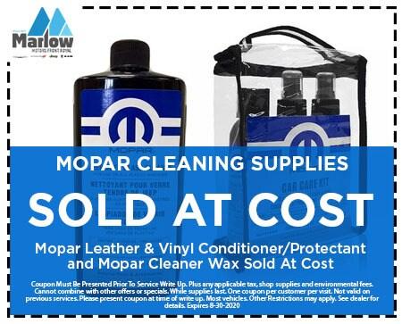 Mopar Cleaning Supplies