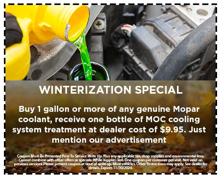 Winterization Special