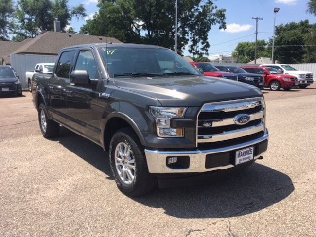 Used 2017 Ford F-150 Lariat Crew Cab Short Bed Truck in Great Bend