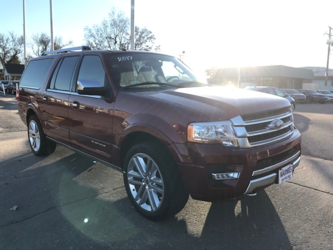 Used 2017 Ford Expedition EL Platinum SUV in Great Bend