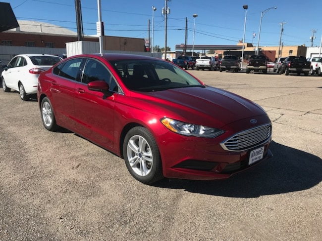 Used 2018 Ford Fusion SE Sedan in Great Bend