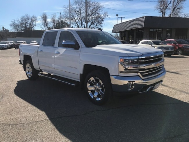 Used 2016 Chevrolet Silverado 1500 LTZ Crew Cab Truck in Great Bend