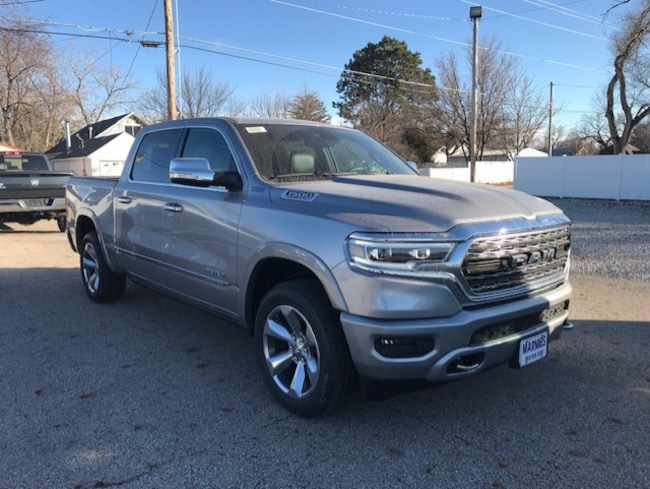 New 2019 Ram 1500 LIMITED CREW CAB 4X4 5'7 BOX Crew Cab in Great Bend