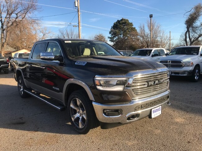 New 2019 Ram 1500 LARAMIE CREW CAB 4X4 5'7 BOX Crew Cab in Great Bend