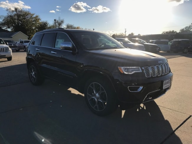 New 2019 Jeep Grand Cherokee OVERLAND 4X4 Sport Utility in Great Bend