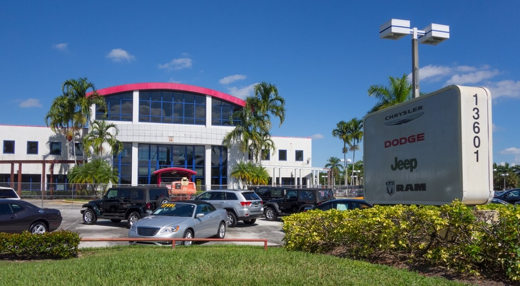 Chrysler Dodge Jeep RAM Dealership Near Pompano Beach, FL ...