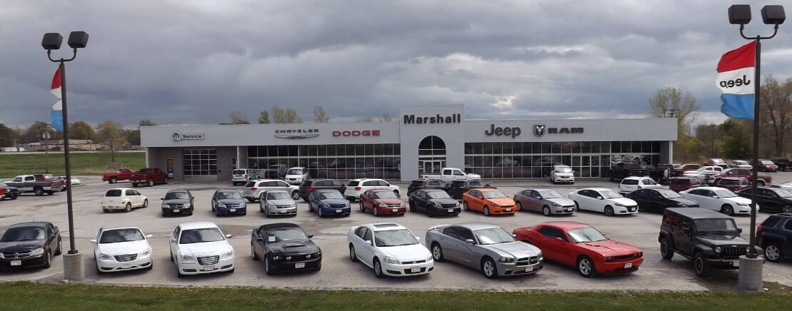 Marshall Chrysler Jeep Dodge Ram New Used Car Dealer In - Chrysler jeep and dodge