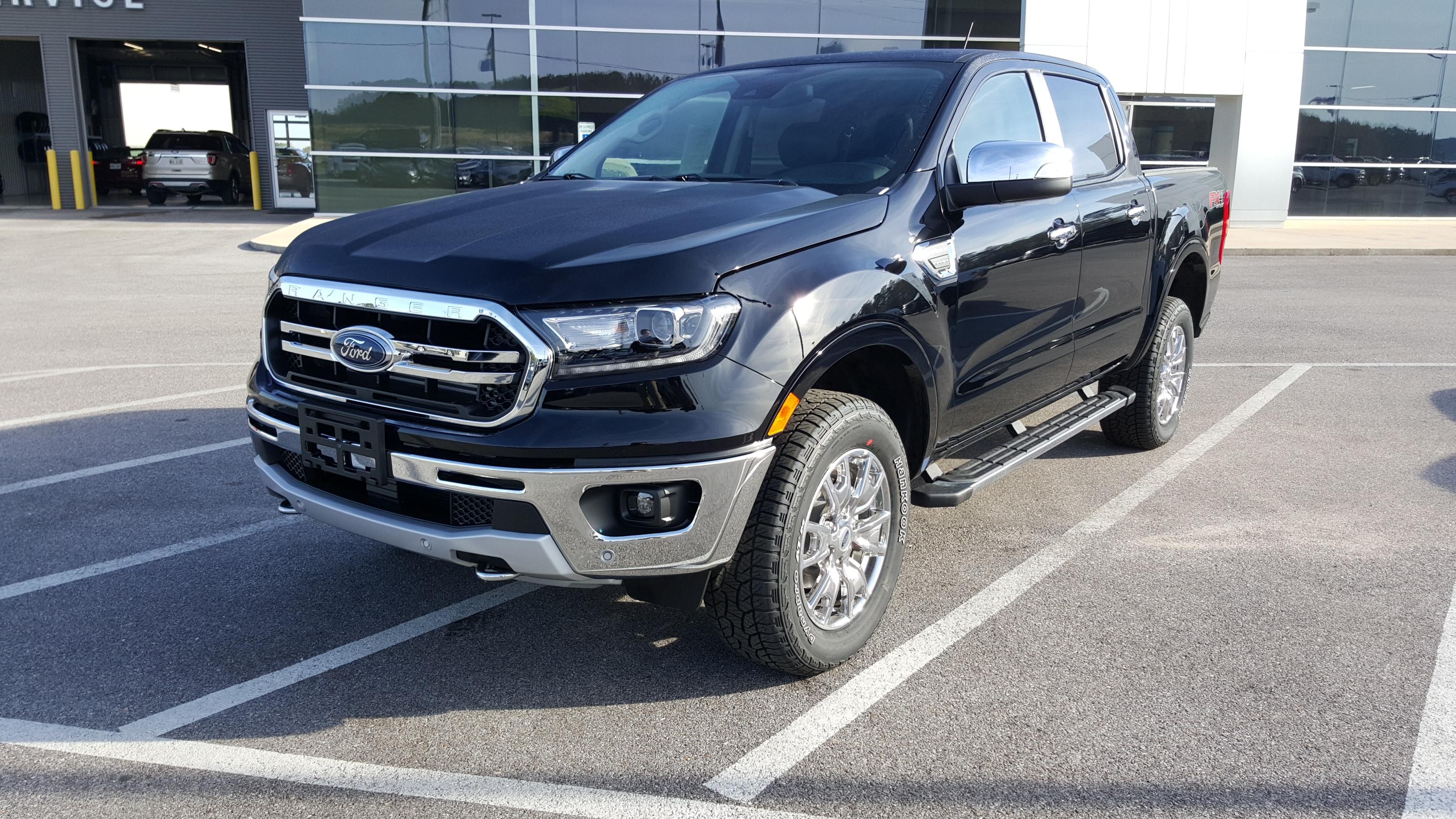 2019 Ford Ranger Lariat SuperCrew 4x4 Truck